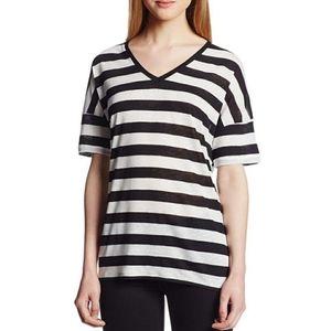 🆕️NYDJ Striped Linen Blend Top